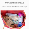 inside the knitting crochet project bag