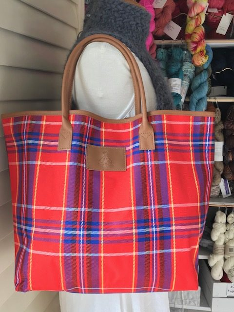 Tartan Project Bag Knit Crochet