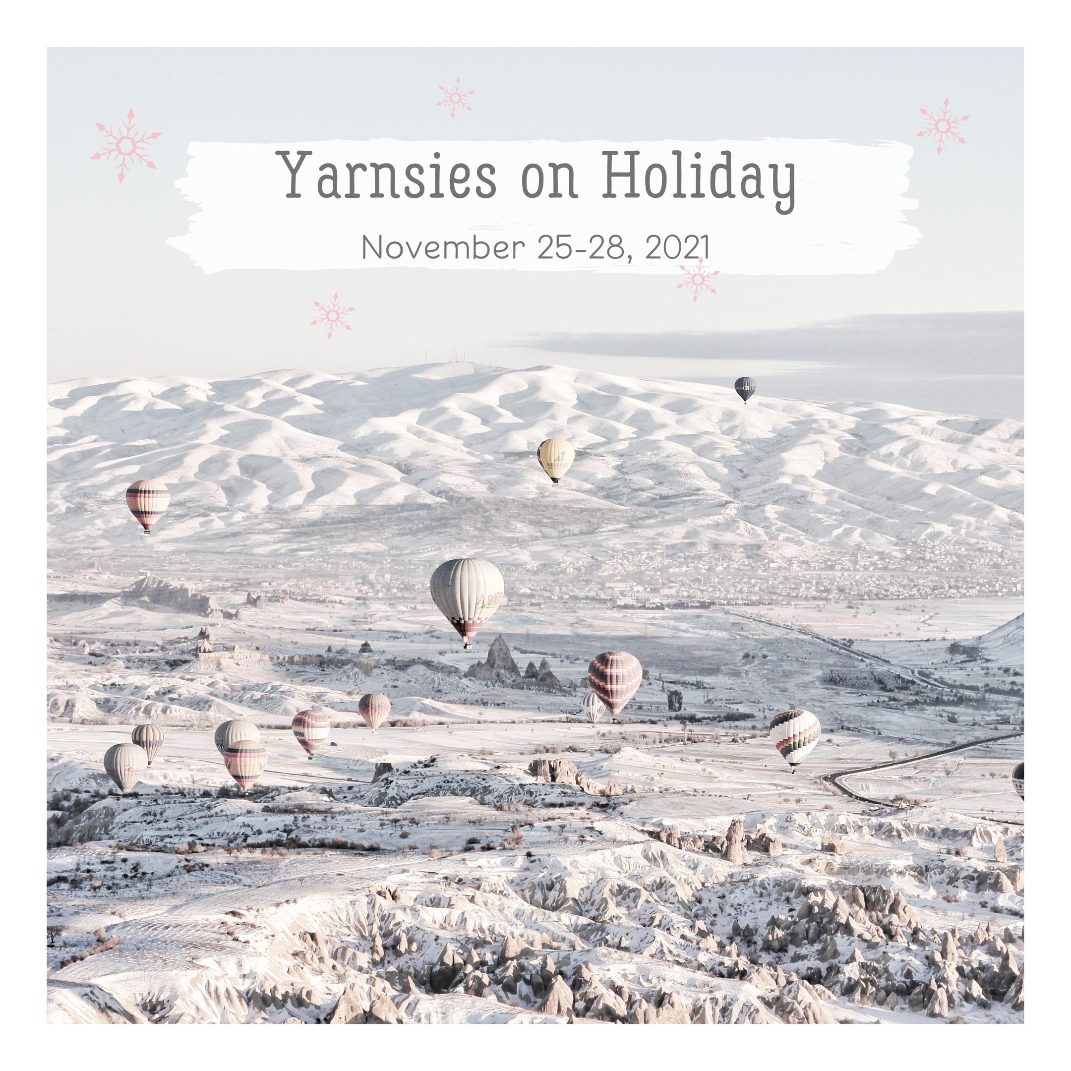 Yarnsies on Holiday
