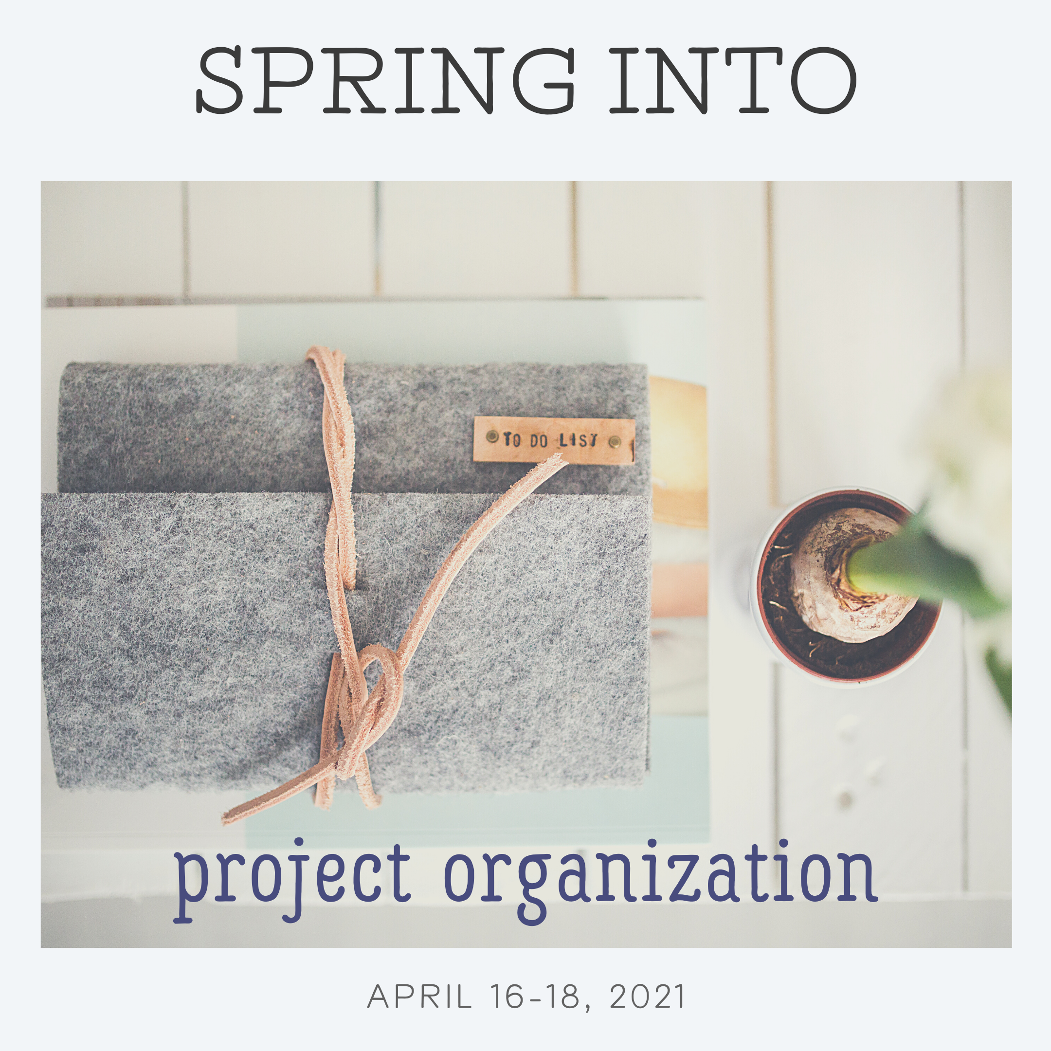 Spring into Project Organization
