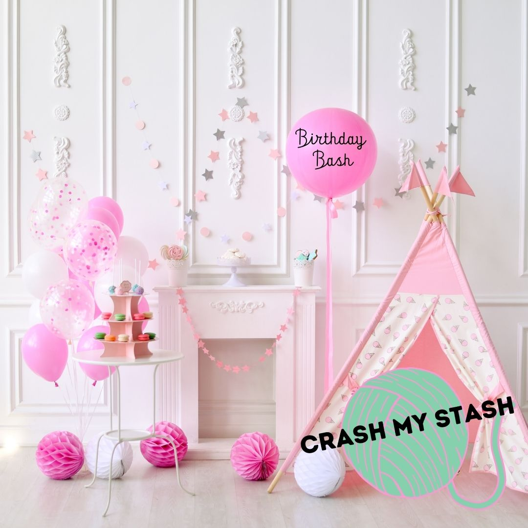 Crash My Stash Birthday Bash Destash