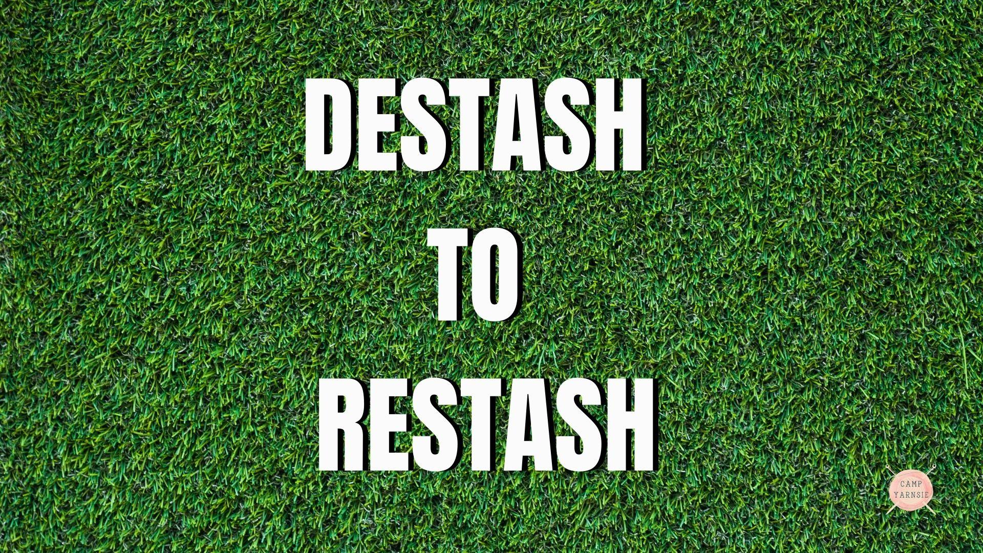 Destash to Restash