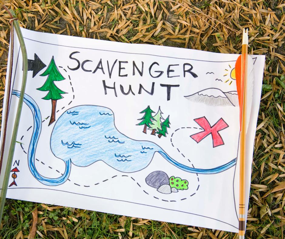 Scavenger Hunt with Wild Stitchers