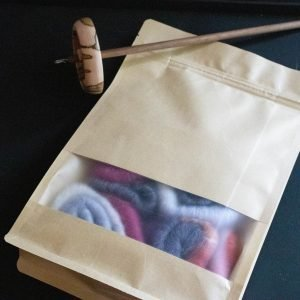 Hand Blended Rolags for Spinning