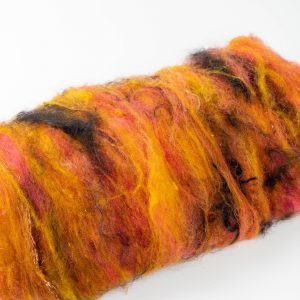 fiber art batt for spinning